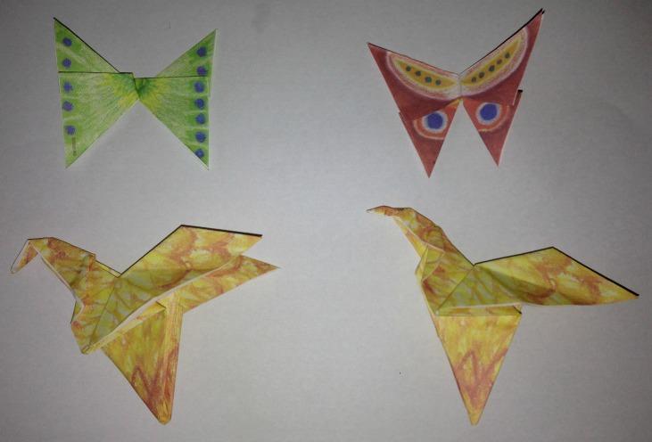 Origami Animals 1a
