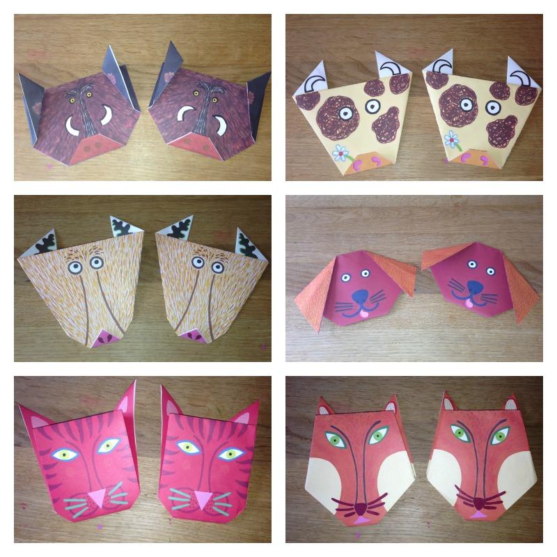 Origami Animals 2a