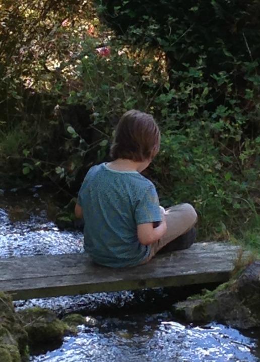 boy on a bridge cropped