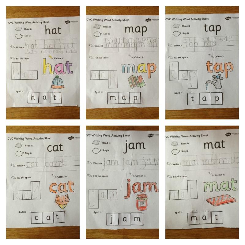 cvc word activity