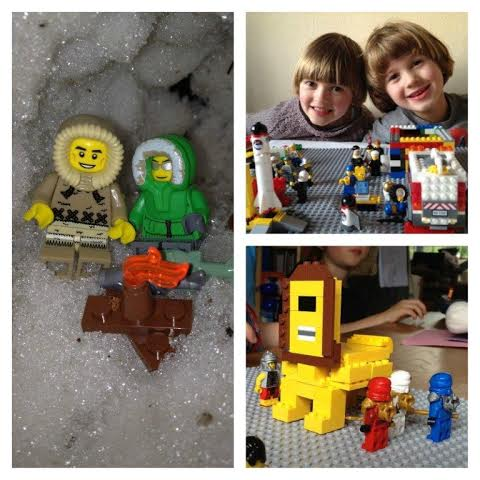 First lego collage