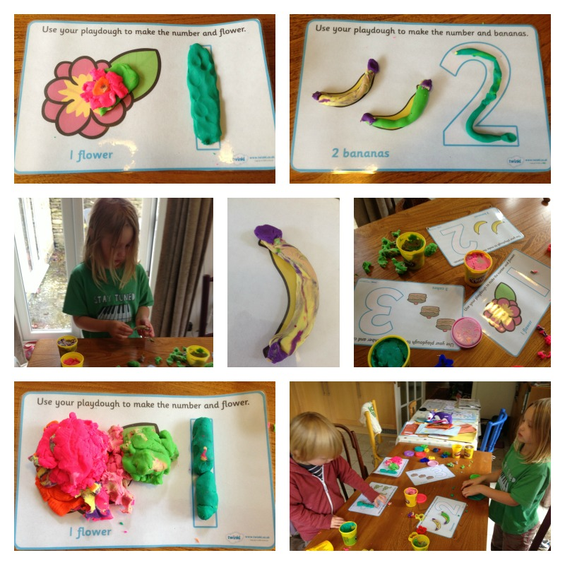 number playdough mats 1