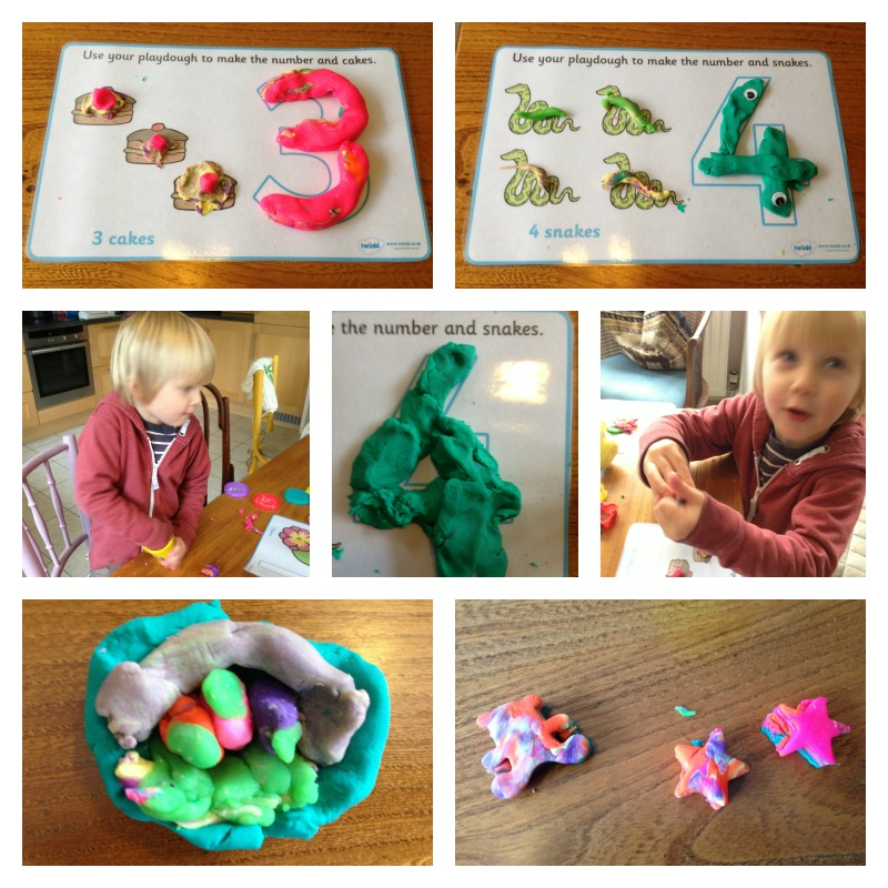 number playdough mats 2