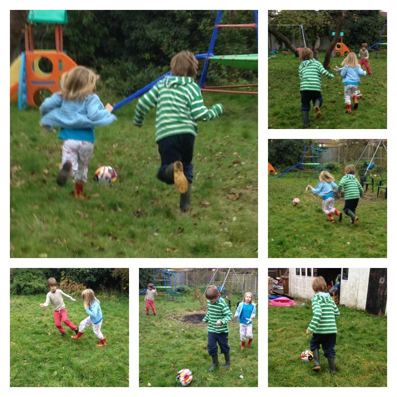 garden football