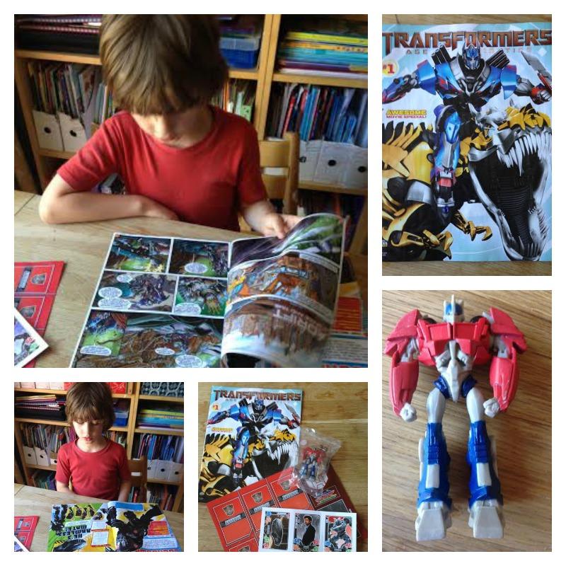 transformers magazine 1